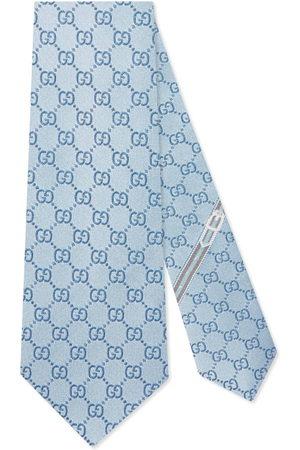 Gucci Men Neckties - GG pattern silk tie