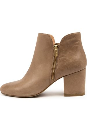 Ziera Nada W Zr Taupe Boots Womens Shoes Casual Ankle Boots