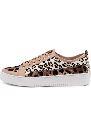 Django & Juliette Women Casual Shoes - Laci Djl Copper Leopard Sneakers Womens Shoes Casual Casual Sneakers