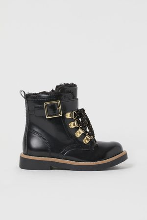 H&M Faux Sheepskin Lined Boots