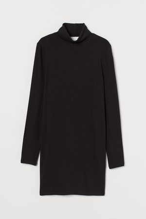 H&M Rib Turtleneck Dress