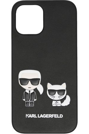 Karl Lagerfeld Women Phone Cases - Karl & Choupette iPhone 12 case