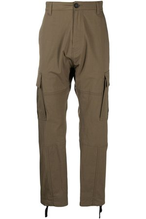 MARCELO BURLON Straight-leg cargo pants