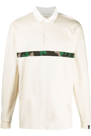 MACKINTOSH Horizontal-stripe rugby sweatshirt