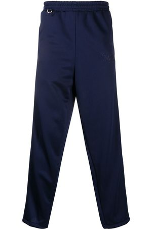 DOUBLET Embroidered detail track trousers