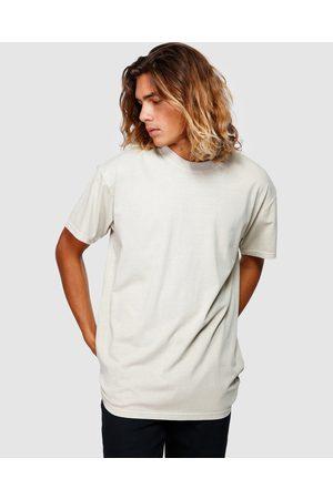 Billabong Premium Wave Wash Tee - T-Shirts & Singlets (LIGHT KHAKI) Premium Wave Wash Tee