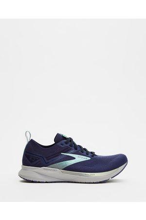 Brooks Women Shoes - Ricochet 3 Women's - Training (Navy & Ribbon) Ricochet 3 - Women's