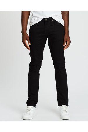 Rodd & Gunn Men Straight - Longburn Straight Fit Jeans - Jeans (Nero) Longburn Straight Fit Jeans