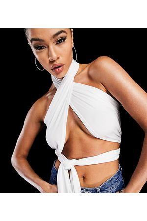 AsYou Multiway halter top in white