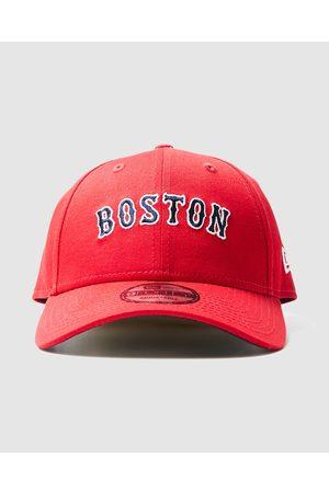 New Era Caps - 9forty Boston Sox Logo Flip Curve Peak Cap