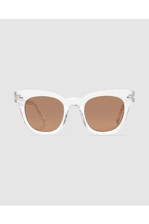 Epokhe Sunglasses - Dylan Crystal Sunglasses Polished Clear/bronze