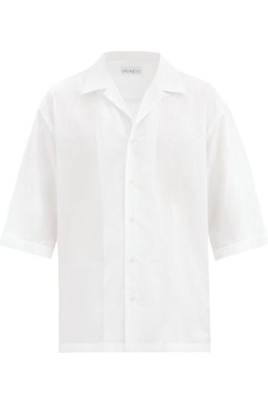 Raey Oversized Camp-collar Cotton-poplin Shirt - Mens