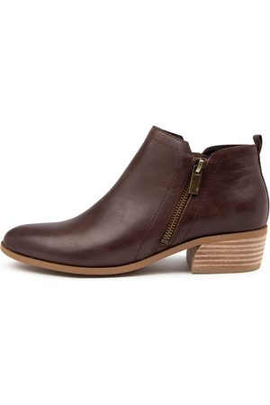 Django & Juliette Women Ankle Boots - Chas Dj Choc Boots Womens Shoes Casual Ankle Boots