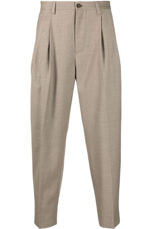 Dolce & Gabbana Men Formal Pants - Cropped tapered trousers