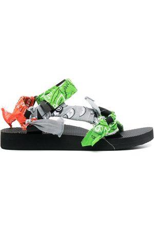 Arizona Love Bandana-print sandals
