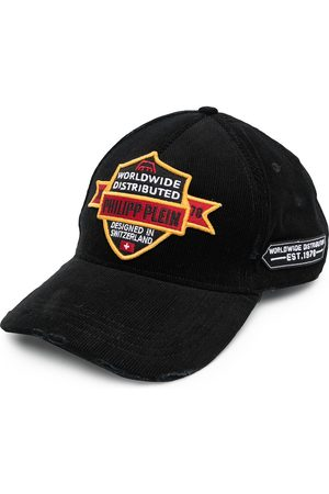 Philipp Plein Men Caps - Logo-patch baseball cap