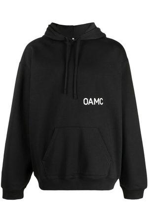 OAMC Logo print pullover hoodie