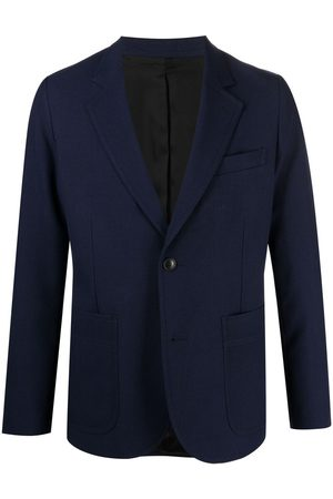 Ami Two-button patch pockets jacket