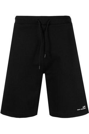 A.P.C. Men Bermudas - Item drawstring-waist shorts