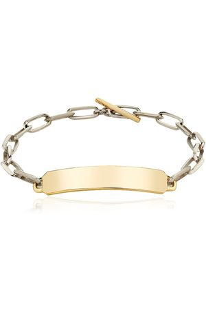 Lizzie Mandler Fine Jewelry Men Bracelets - OG ID chain bracelet