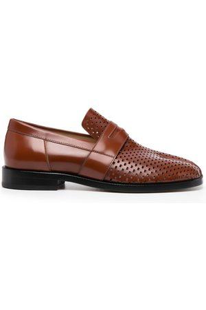 Maison Margiela Perforated Tabi loafers
