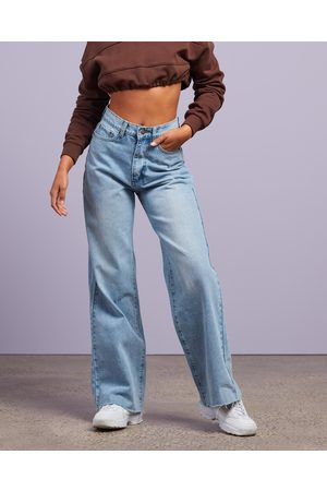 Dazie Celestial Super Wide Leg Jeans - High-Waisted (Light ) Celestial Super Wide Leg Jeans