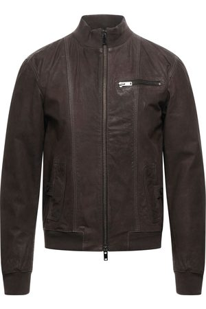 BULLY Men Leather Jackets - Jackets