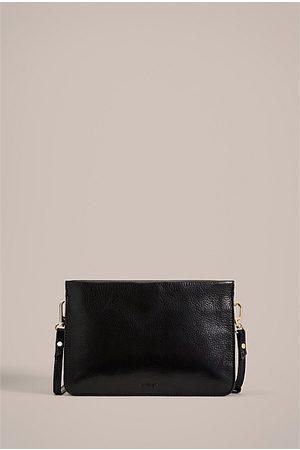 WITCHERY Raya Pebbled Crossbody Bag