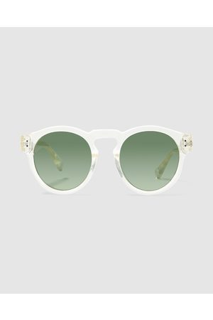 LOCAL SUPPLY Bne Sunglasses Polished Clear