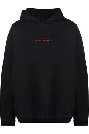 Maison Margiela Men Hoodies - Flipped logo hoodie