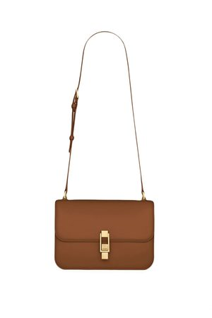 Saint Laurent Women Shoulder Bags - Debossed-logo crossbody bag