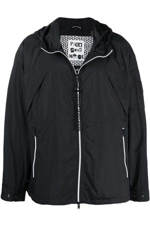 Moose Knuckles Zip-front hooded jacket