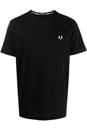 Fred Perry Laurel Wreath embroidery T-shirt