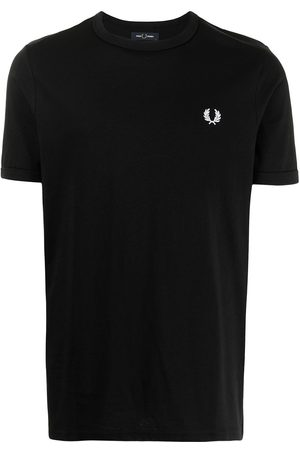 Fred Perry Ringer embroidered logo T-shirt