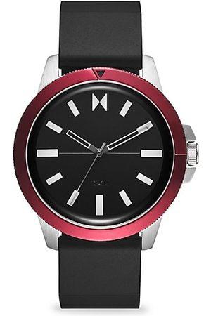 MVMT Minimal Sport Red Sea Stainless Steel & Silicone-Strap Watch