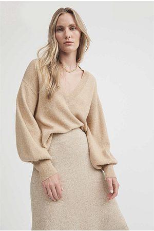 WITCHERY Women Sweaters - Crop Full Sleeve Knit