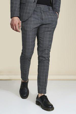 Boohoo Mens Slim Suit Trousers