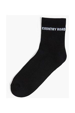 COUNTRY ROAD Men Socks - Branded Quarter Crew Sock