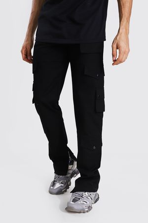 Boohoo Mens Tall Relaxed Fit Twill Cargo Trouser