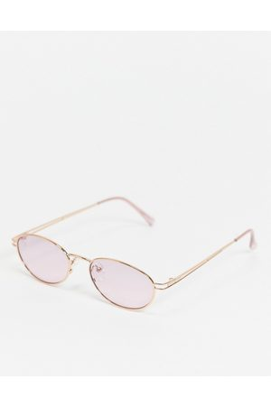 Jeepers Peepers Women Sunglasses - Womens cats eye sunglasses in pink with tinted lens