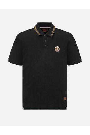 Evisu Kamon Embroidered Polo Shirt