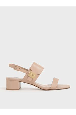 CHARLES & KEITH Women Sandals - Buckle Strap Sandals