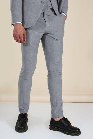 Boohoo Mens Skinny Suit Trousers
