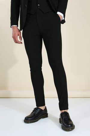 Boohoo Mens Super Skinny Suit Trousers