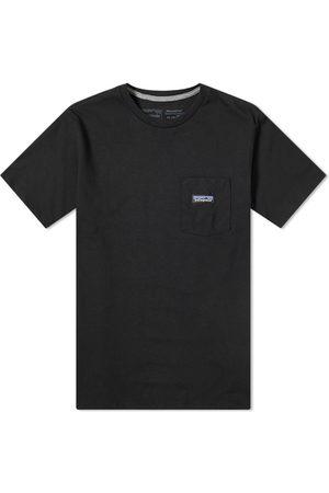 Patagonia Men Short Sleeve - P-6 Label Pocket Responsibili-Tee