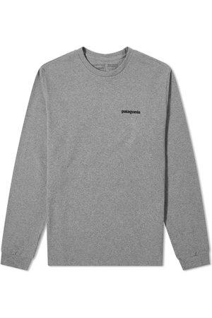 Patagonia Men Long Sleeve - Long Sleeve P-6 Logo Responsibili-Tee