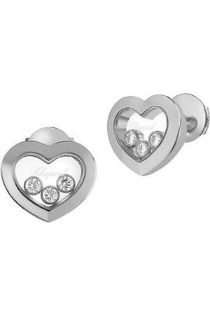 Chopard Happy Diamonds Heart 18K Stud Earrings
