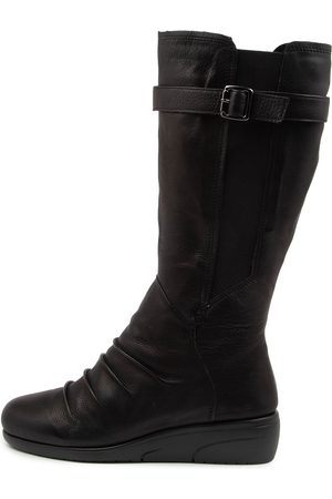 SUPERSOFT Women Knee High Boots - Damaris Su Boots Womens Shoes Casual Long Boots