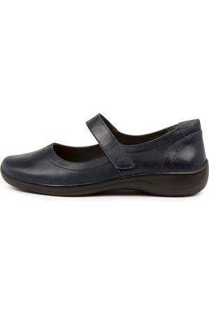 Ziera Jean Xf Zr Navy Shoes Womens Shoes Casual Flat Shoes