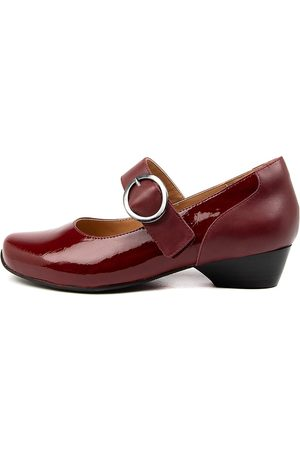 Ziera Candy Xw Zr Ruby Burgundy Shoes Womens Shoes Casual Heeled Shoes